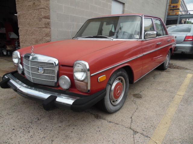 1974 mercedes benz 280 4 door automatic 84000 k miles for 1974 mercedes benz 280
