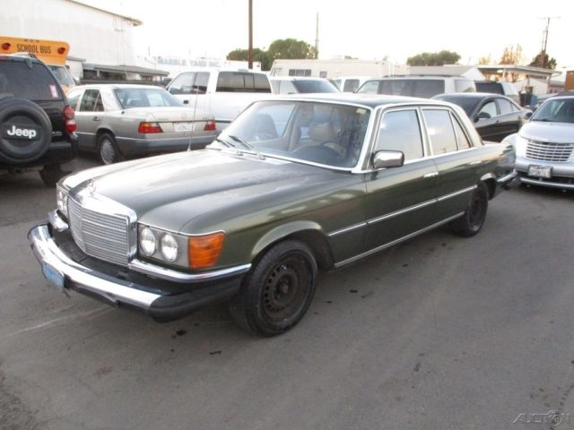 1974 mercedes benz 450se 4 door sedan 8 cylinder automatic for Mercedes benz 400 se