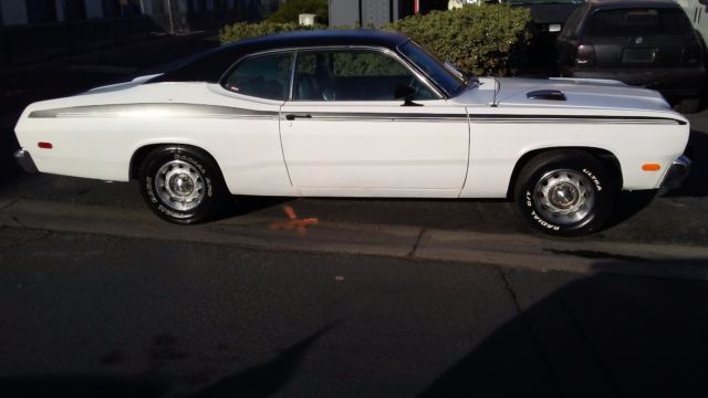 1974 plymouth duster this is a no reserve auction runs and drives clean title for sale. Black Bedroom Furniture Sets. Home Design Ideas