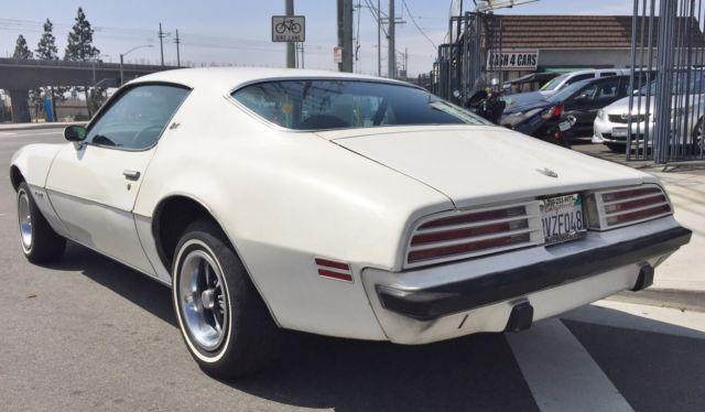 1974 Pontiac Firebird Esprit All Original CA Car for sale ...
