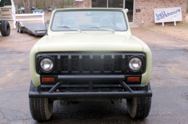 1974 Scout Ii 345 V8 Auto Trans Corbuea Seats Roll Bar