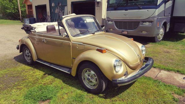 1974 volkswagen super beetle karmann convertible clean ready for summer fun for sale. Black Bedroom Furniture Sets. Home Design Ideas