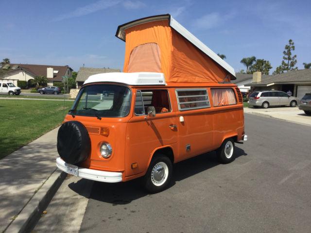 1974 volkswagen westfalia camper bus vw restored original for sale - Volkswagen Bus/Vanagon 1974 ...