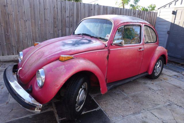 1974 vw beetle need restauration project car for sale volkswagen beetle classic 1974 for. Black Bedroom Furniture Sets. Home Design Ideas