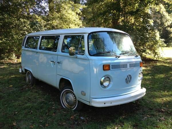 cc77040d7a 1974 VW Bus Type 2 for sale - Volkswagen Bus Vanagon light Blue ...