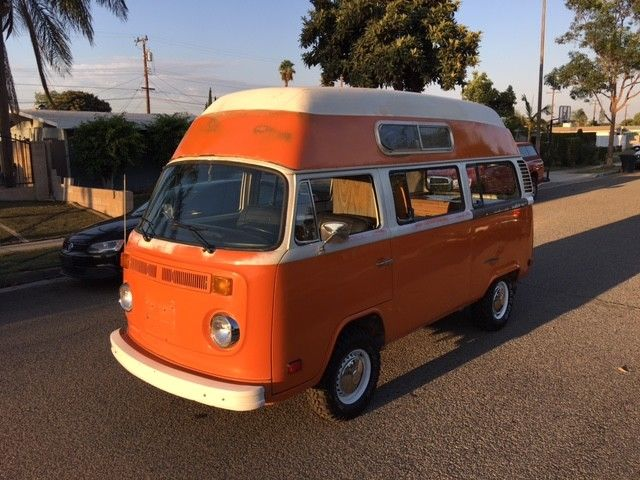 1974 VW Hightop Bus Camper for sale - Volkswagen Bus/Vanagon