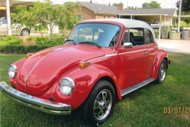 1974 vw super beetle convertible for sale volkswagen beetle classic 1974 for sale in rocky. Black Bedroom Furniture Sets. Home Design Ideas