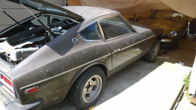 1975 and 1976 Datsun 280z Project car w/ extra parts for