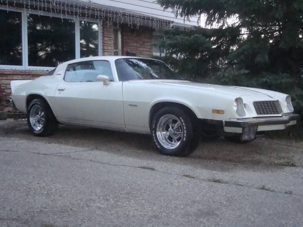 1975 Camaro Lt Oregon Absolute Rust Free For Sale