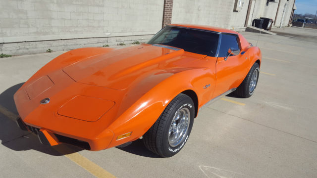 Cheverolet Corvette Speed Ac T Top Rare Color Flame Red Code