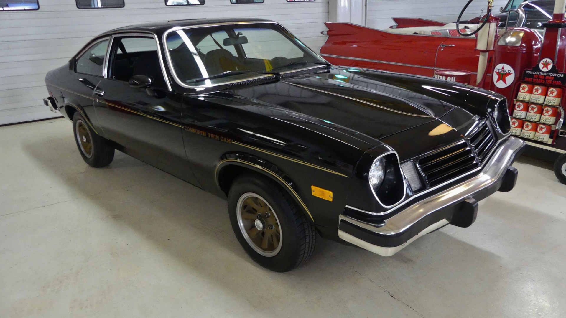 1975 Chevrolet Vega Cosworth 0735 4925 Miles Black 2 Dr
