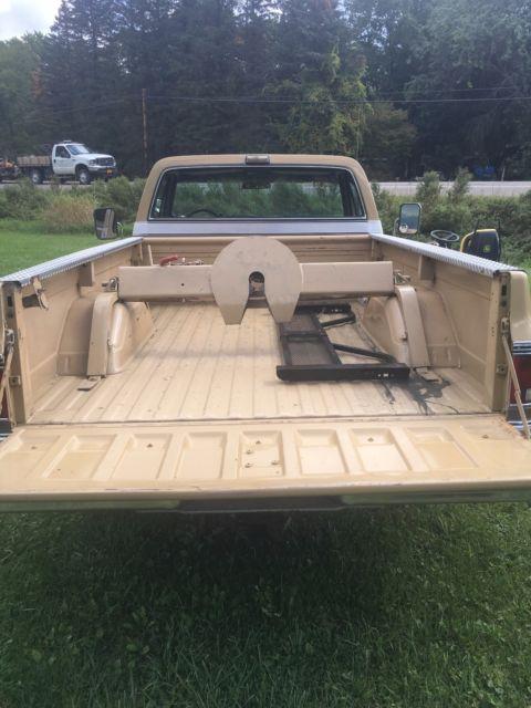 1975 Chevy C20 Pickup Silverado Camper special rust free truck 454 big block for sale ...