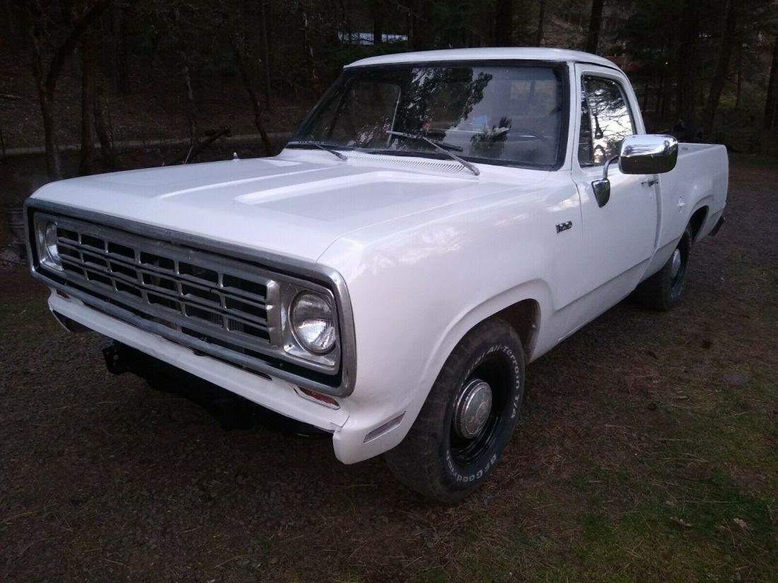 1975 Dodge D100 Short Bed Adventurer Pickup For Sale Dodge Other Pickups Short Bed 1975 For Sale In Trail Oregon United States