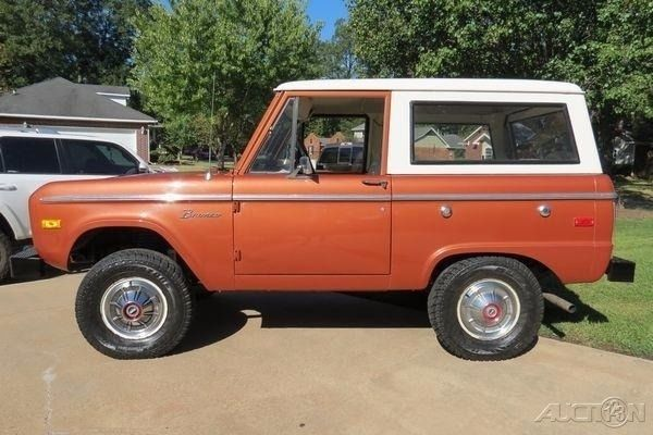 1975 ford bronco used automatic true survivor car not restored all original for sale ford. Black Bedroom Furniture Sets. Home Design Ideas