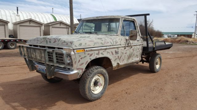 1975 ford f250 highboy for sale ford f 250 high boy 1975 for sale in laramie wyoming united. Black Bedroom Furniture Sets. Home Design Ideas