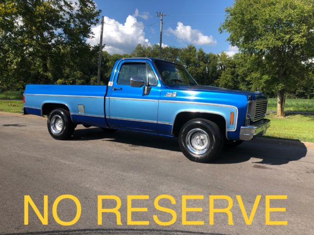 1975 Gmc C1500 Beau James For Sale Chevrolet C 10 1975 For Sale In Nashville Tennessee United States
