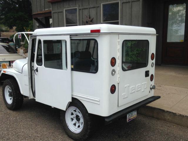 1975 jeep dj5 d postal delivery right hand drive for sale. Black Bedroom Furniture Sets. Home Design Ideas