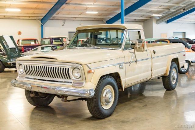 1975 Jeep J20 Awd 360 V8 Auto 3 4 Ton 4x4 Lb Pickup Truck 75