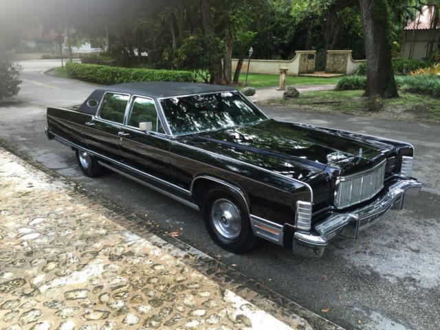 1975 Lincoln Continental Triple Black For Sale Lincoln