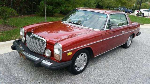 1975 Mercedes Benz 280c 2 Door Coupe Sun Roof Runs And