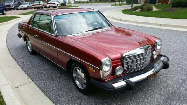 1975 mercedes benz 280c 2 door coupe sun roof runs and for Mercedes benz 2 door coupe for sale