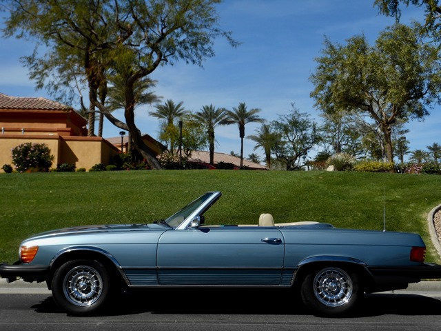 1975 mercedes benz 450sl roadster convertible 89000 miles for Mercedes benz sl convertible for sale