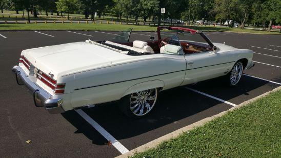 1975 Pontiac Grandville Convertible For Sale