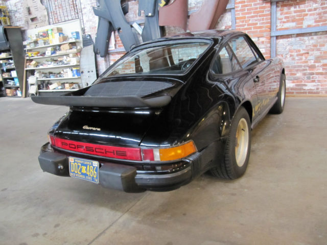 1975 Porsche 911 Carrera 2 7 Coupe Matching Numbers Black