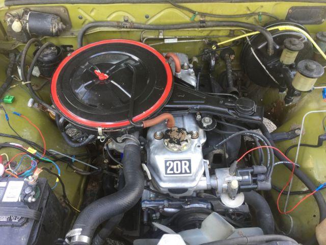 1975 TOYOTA HILUX PICKUP SR5 20R ORIGINAL OWNER 61K MILES