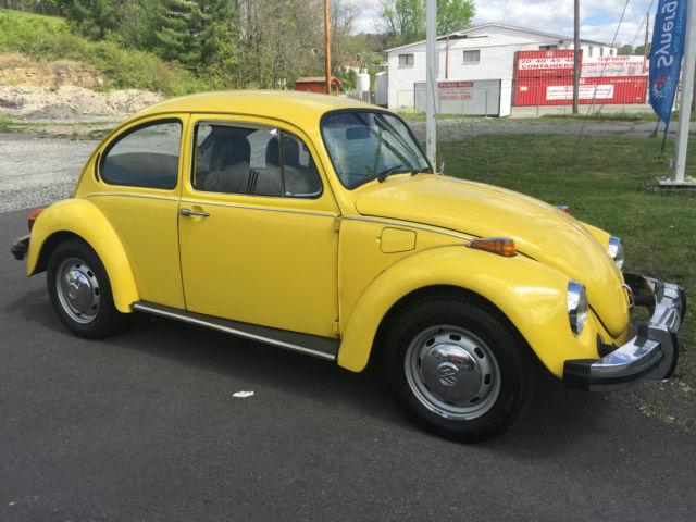 1975 Volkswagen Beetle Classic 2 Door For Sale