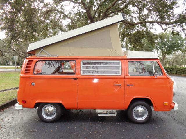 1975 Volkswagen Westfalia Camper Bus for sale - Volkswagen