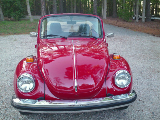 1975 vw beetle convertible excellent condition for sale volkswagen beetle classic super. Black Bedroom Furniture Sets. Home Design Ideas