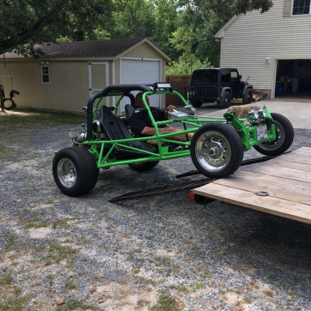 1975 vw bug/beetle sand rail street legal dune buggy for