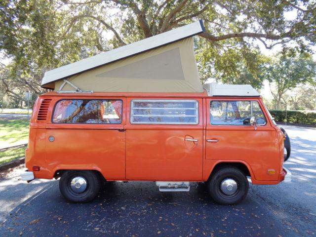 1975 VW Bus Westfalia Resto-Mod 110HP Subaru Engine Volkswagen Bay