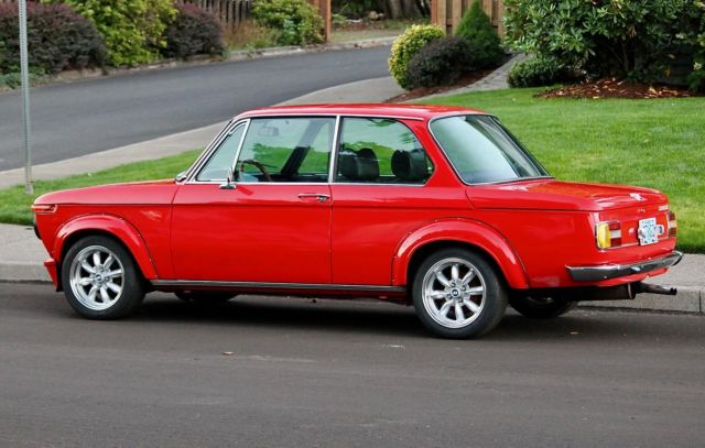 1976 bmw 2002 beautifully restored turbo flares and spoiler thousands spent for sale bmw. Black Bedroom Furniture Sets. Home Design Ideas