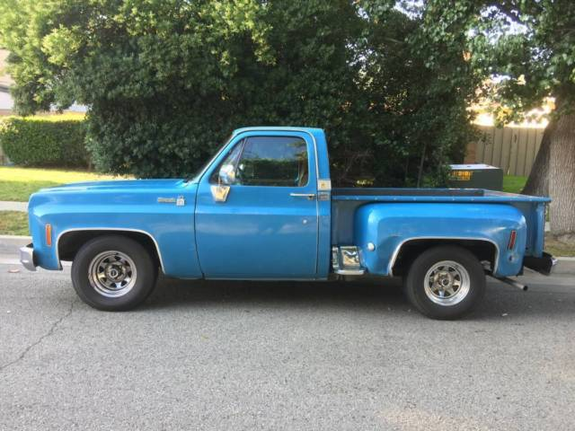 1976 c10 silverado short bed chevy pick up truck matching 454 7 4l for sale chevrolet c 10. Black Bedroom Furniture Sets. Home Design Ideas