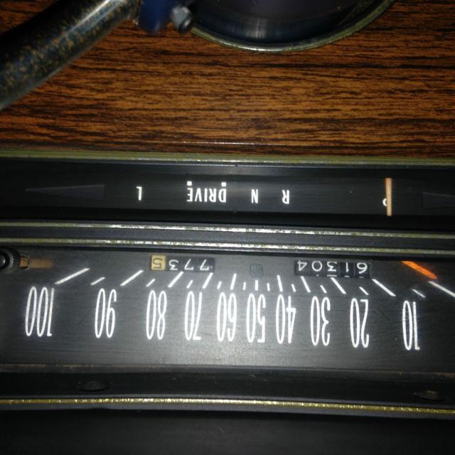 1976 Cadillac Eldorado Base Convertible 2-Door 8.2L For