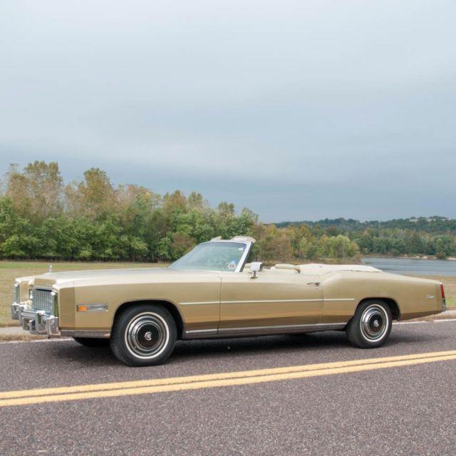1976 Cadillac Eldorado Convertible Beautiful Low Mile Rust