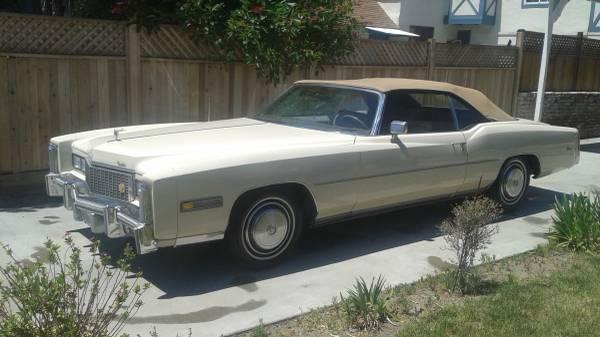 1976 Cadillac Eldorado Convertible Ca Fuel Injected