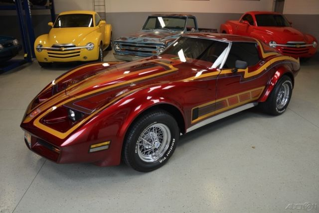 1980 Corvette For Sale >> 1976 Chevrolet Corvette WILD CUSTOM Former 80s Show Car ...