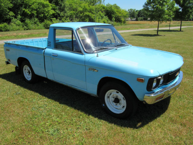 1976 chevy luv mikado 4 speed rebuilt 4cyl vintage classic economy small truck for sale. Black Bedroom Furniture Sets. Home Design Ideas