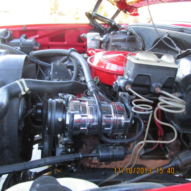 1976 chevy silverado engine
