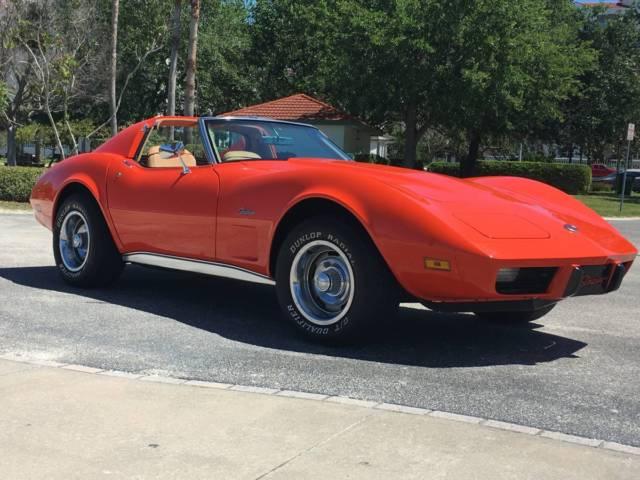 Corvette Body Off Frame Restoration Mint Condition Hugger Orange Paint Job