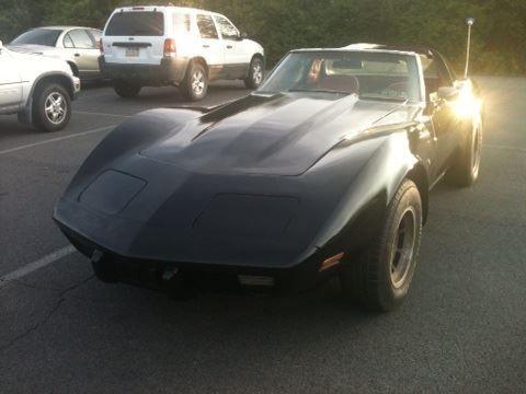 1976 Corvette Stingray 4 Speed Manual Transmission Black