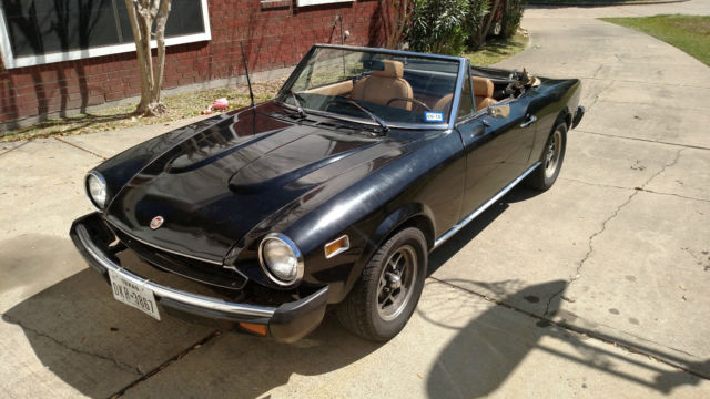 1976 Fiat 124 Spider Convertible 2 Door 1 8l No Reserve For Other In Katy Texas United States