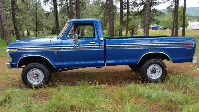 1976 ford f 250 4x4 3 4 ton a real highboy ranger custom no reserve low milles for sale ford f. Black Bedroom Furniture Sets. Home Design Ideas
