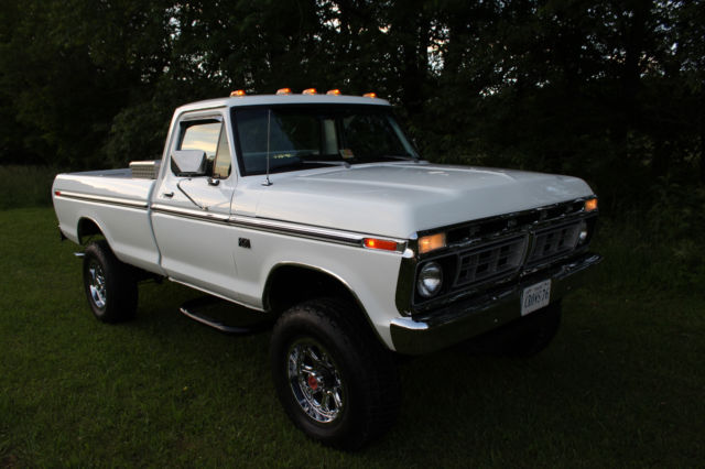 1976 ford f 250 4x4 390 4 speed restored georgia truck no reserve for sale ford f 250 1976. Black Bedroom Furniture Sets. Home Design Ideas
