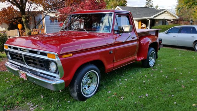 1976 Ford F100 Stepside For Sale Ford F 100 1976 For
