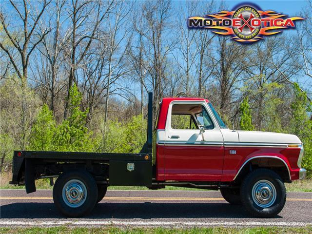 F250 Flatbed For Sale >> 1976 Ford F250 4x4 Pickup for sale - Ford F-250 Flat Bed 1976 for sale in Saint Louis, Missouri ...