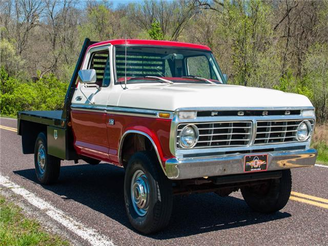 1976 Ford F250 4x4 Pickup  New Flatbed For Sale